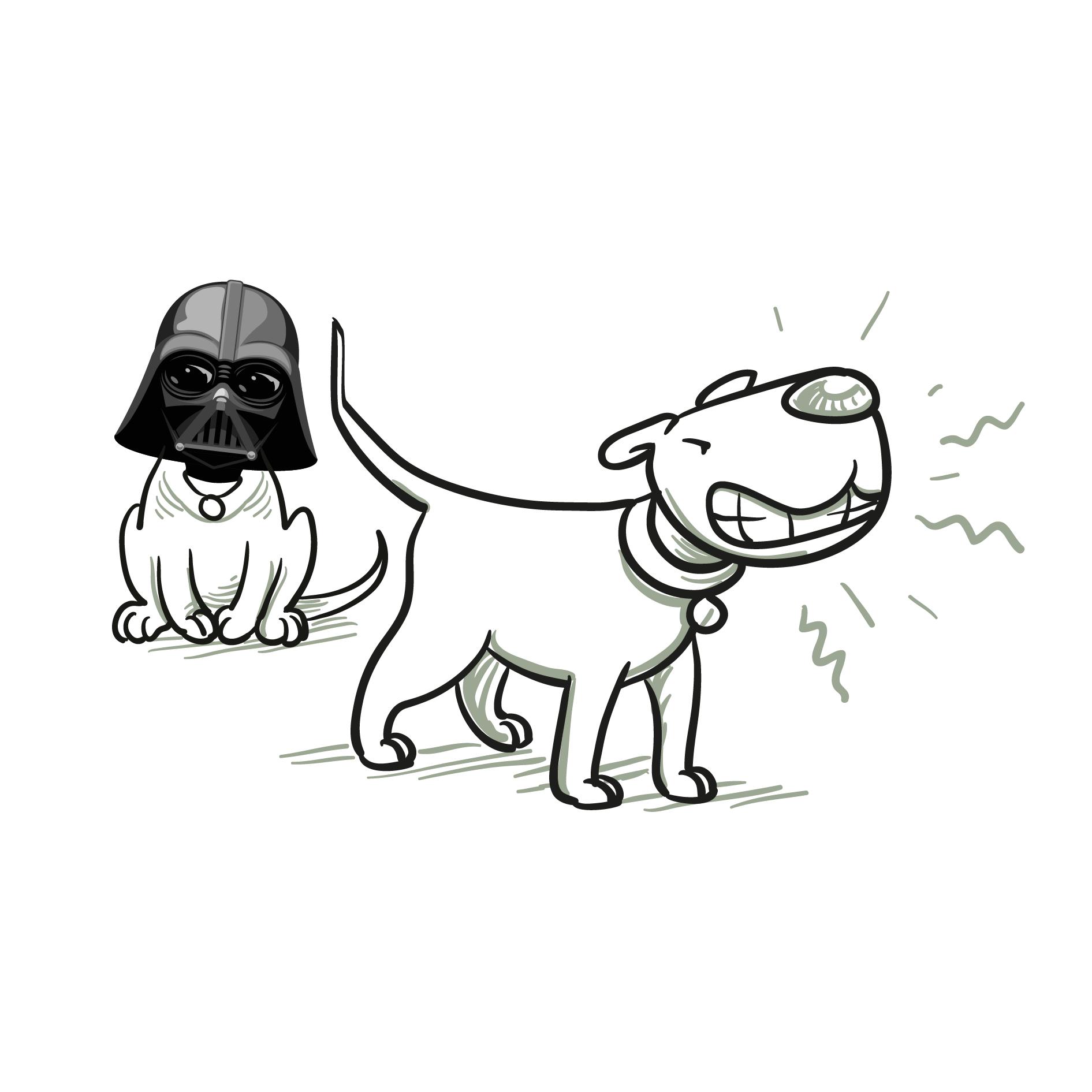 Hundeclique_Darth-Vader